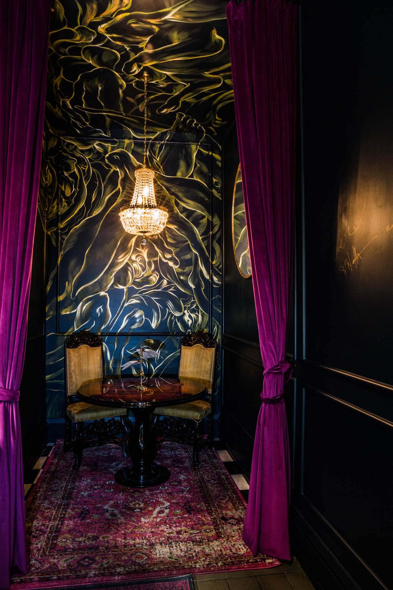 The Rabbit Hole, a private dining space at Henley