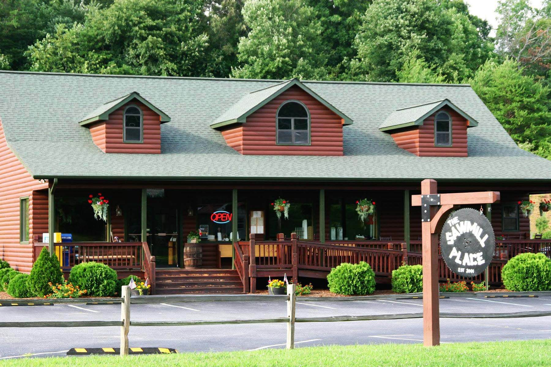 The Sawmill Place in Blairsville, GA