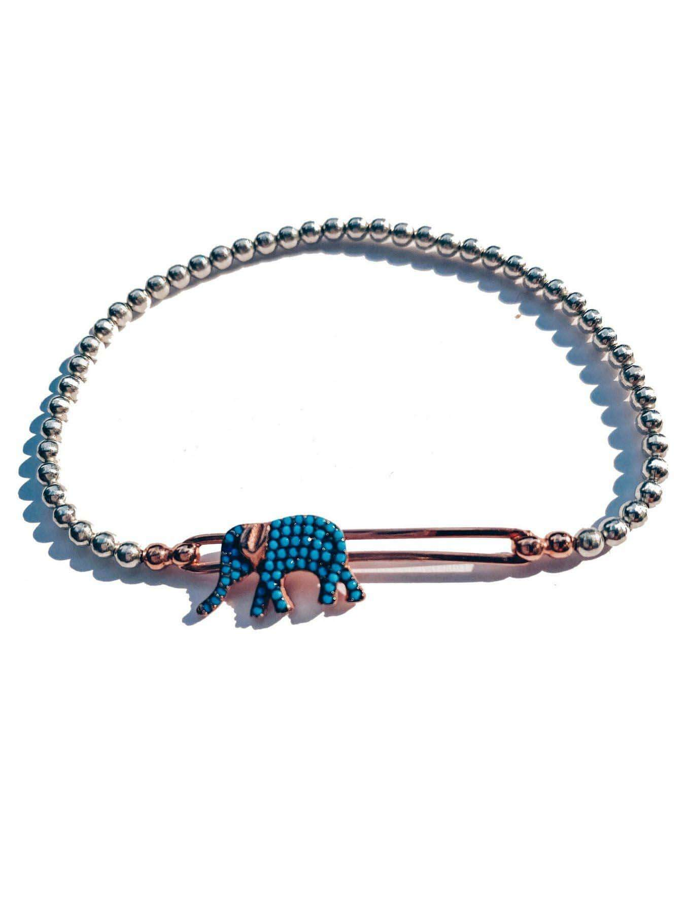 Elephant bracelet available on aparnastyle.com