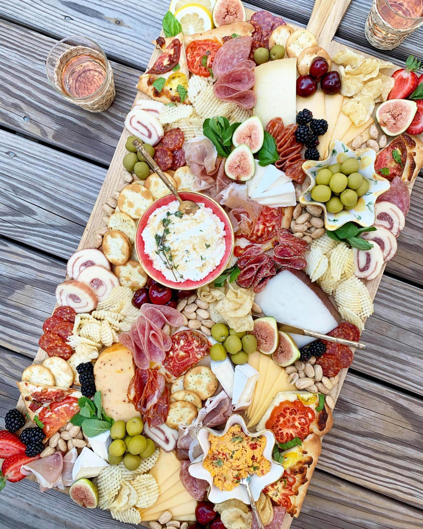 Grazing board from Savor Style