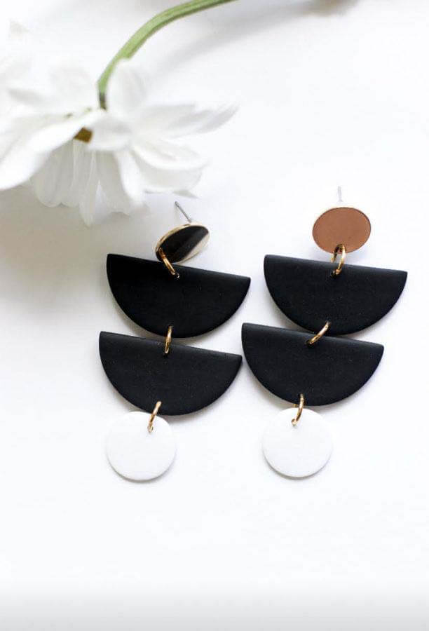 The Olivia earrings from Studio Laudres