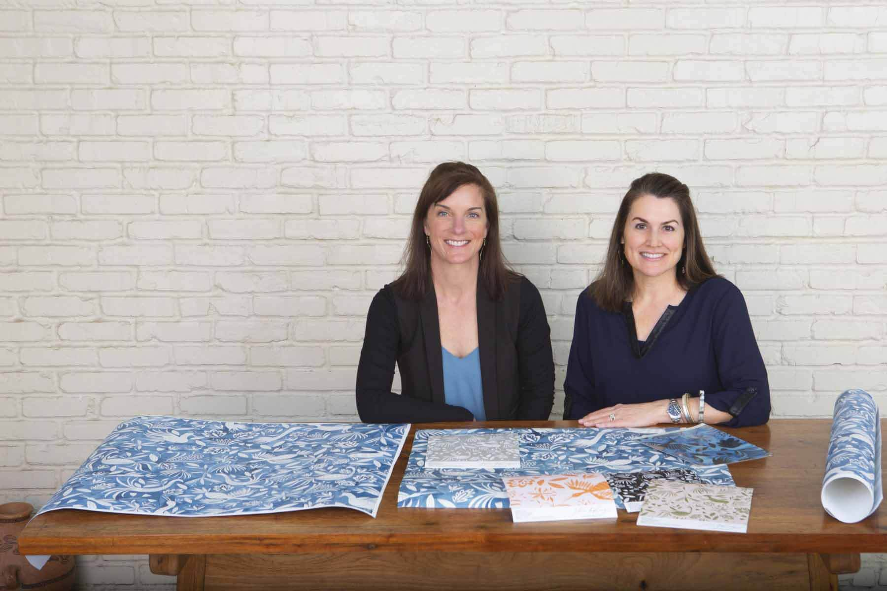 Rowanne McKnight & Katherine Stratton Miller of Julia Kipling, female Southern makers