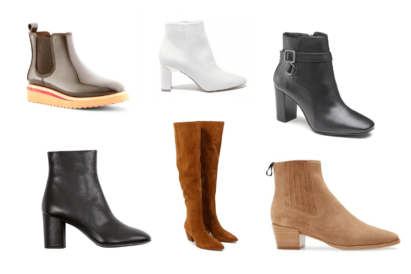 5 Great Booties (& 1 Tall Boot) That Will Enhance Everything in Your Closet