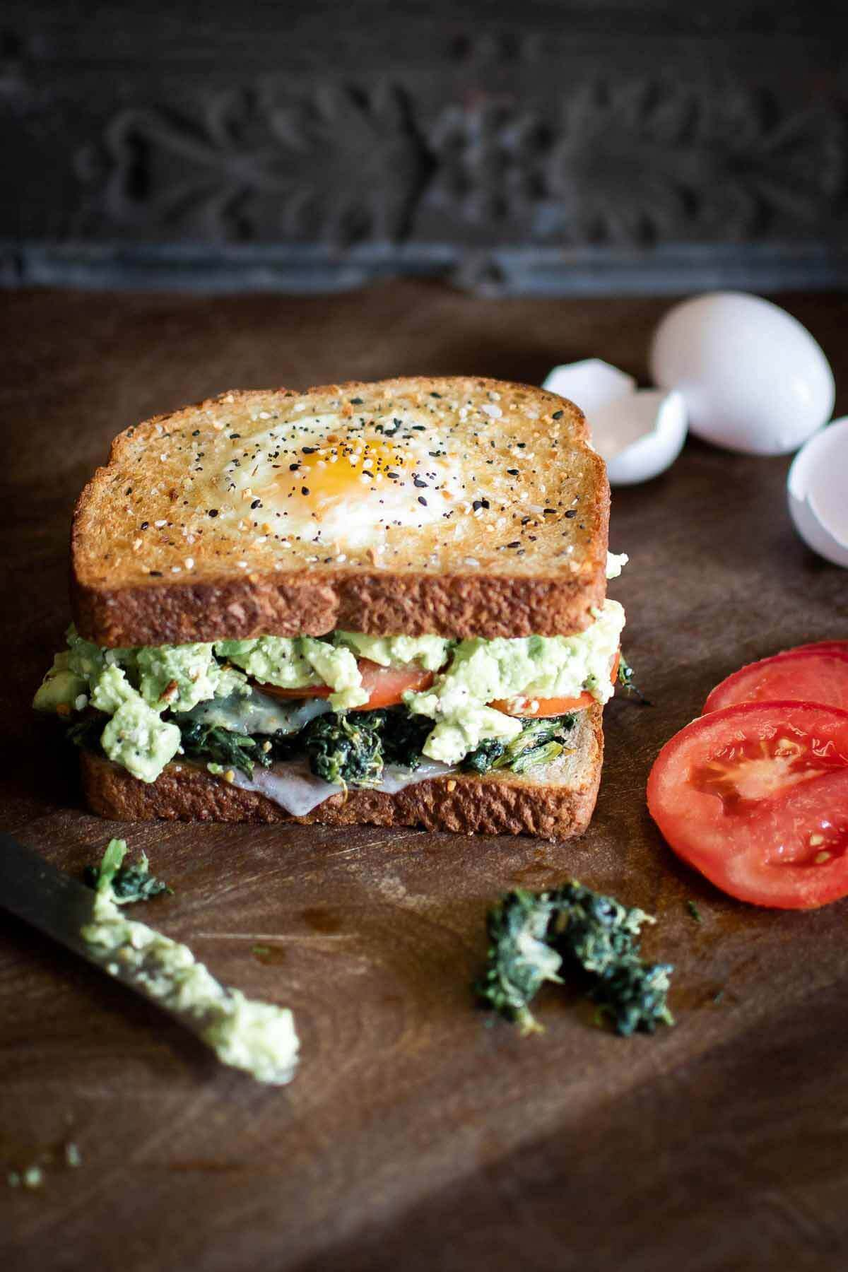 By the Brewery's Avocado Toasted sandwich