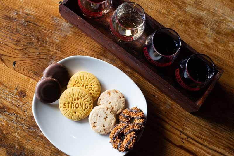 NASHVILLE — APR 16: Girl Scout Cookie & Wine Pairing