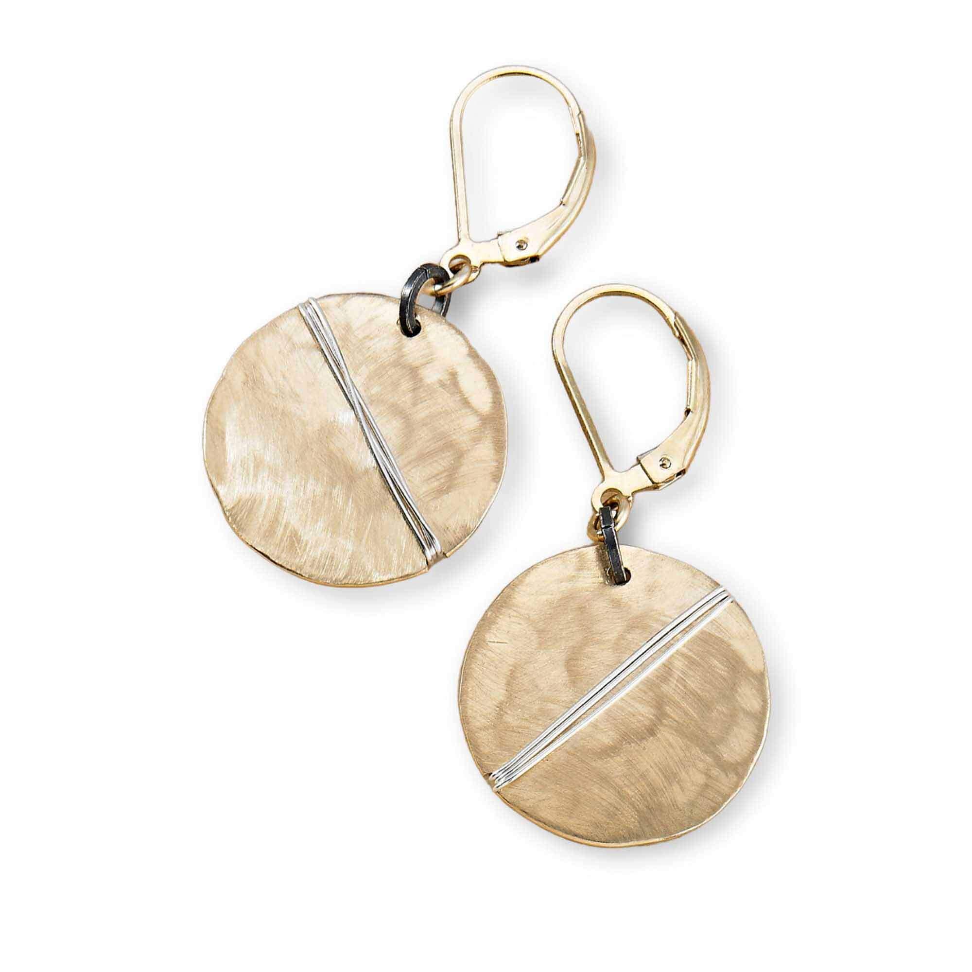 Shield earrings from Freshie & Zero