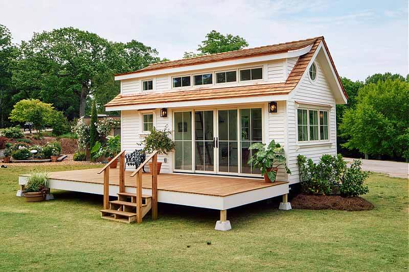This 383 Sq Ft Tiny Home Is Now Open to Tour at Cheekwood!