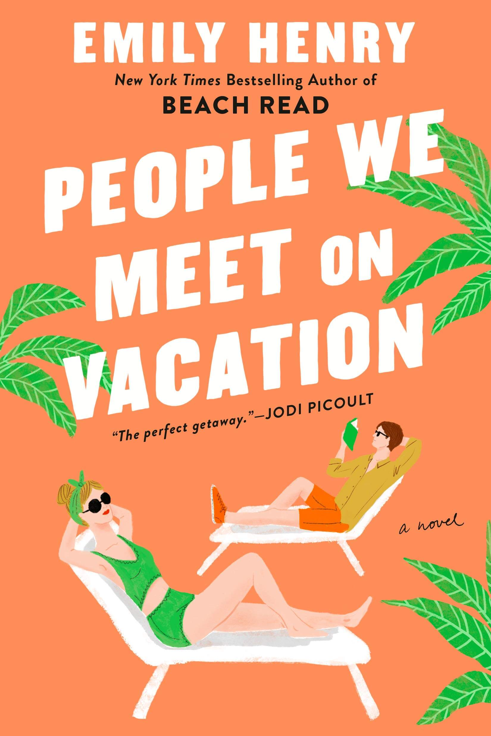 """""""People We Meet on Vacation"""" by Emily Henry"""