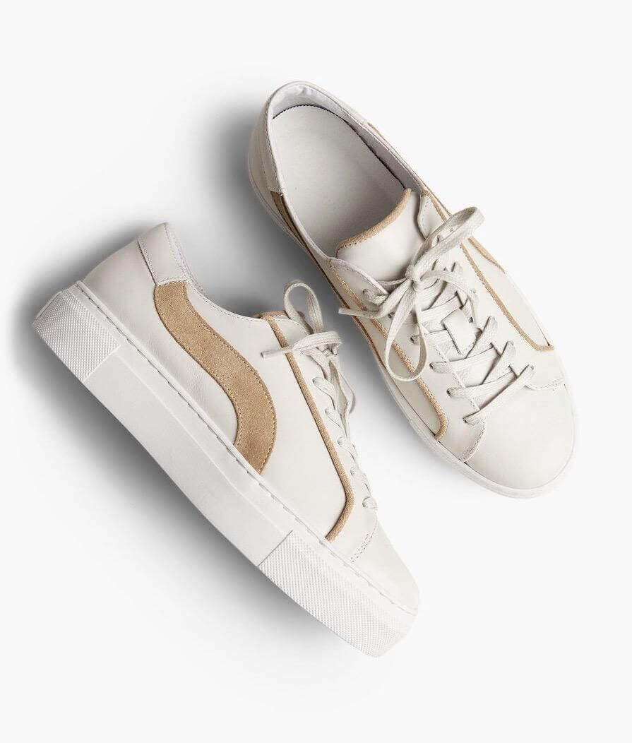 White sneakers from ABLE