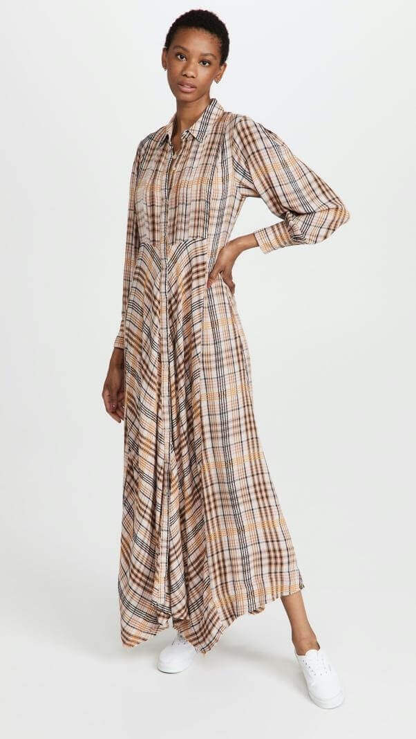Plaid dress from Free People